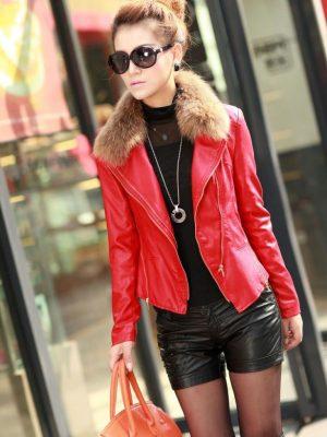 4. Кожаные куртки